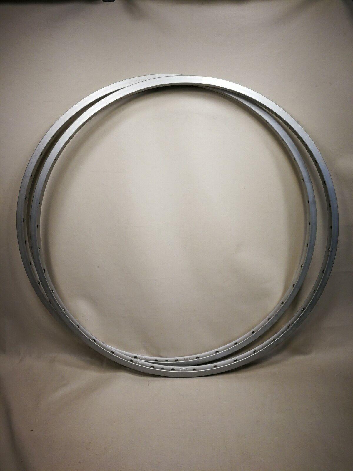 Weinmann 'Concave' 40H 27  Tandem or Touring Rim Pair Rare