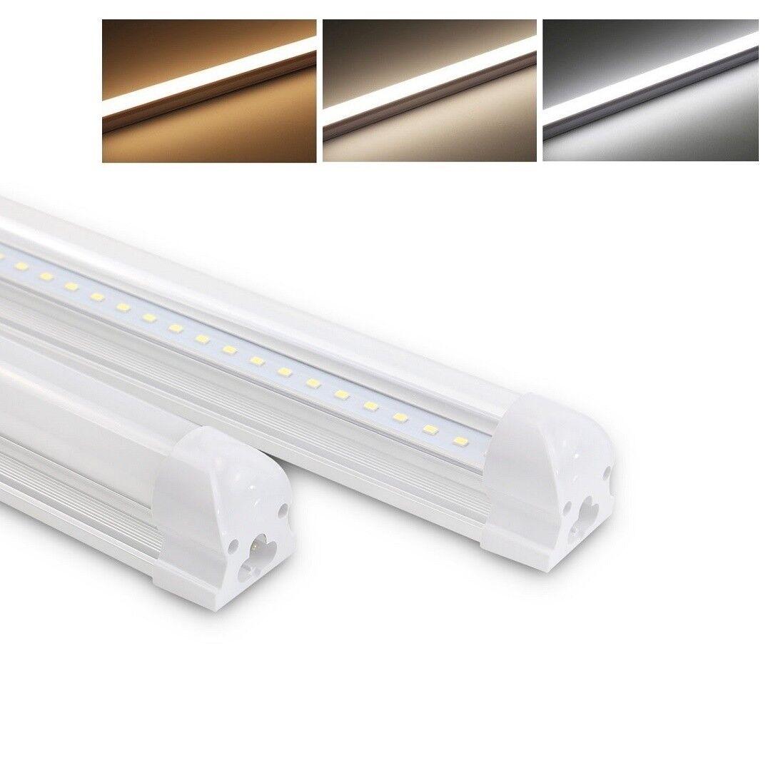 150cm LED T8 Tube Leuchtstoffröhre komplett mit Fassung Röhrenlampe Lichtleiste