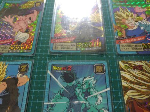 DRAGON BALL Z POWER LEVEL PART 14 FULL SET 6  PRISM CARD