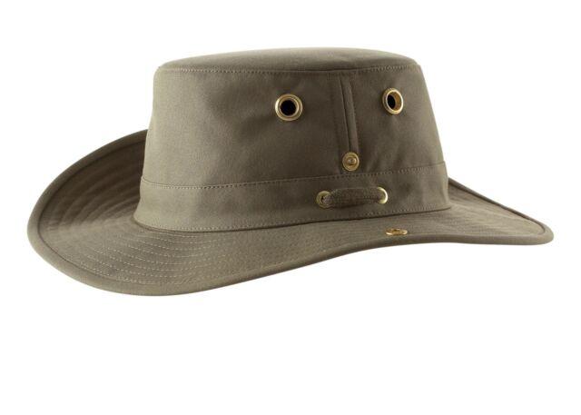 7b45c651c4f Tilley Unisex T3 Cotton Duck Snap-up Brim Hat 7 3 8 Olive