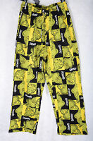 Men's Dr Seuss The Grinch Knit Sleep Pants 100% Cotton Lounge Pajamas S M