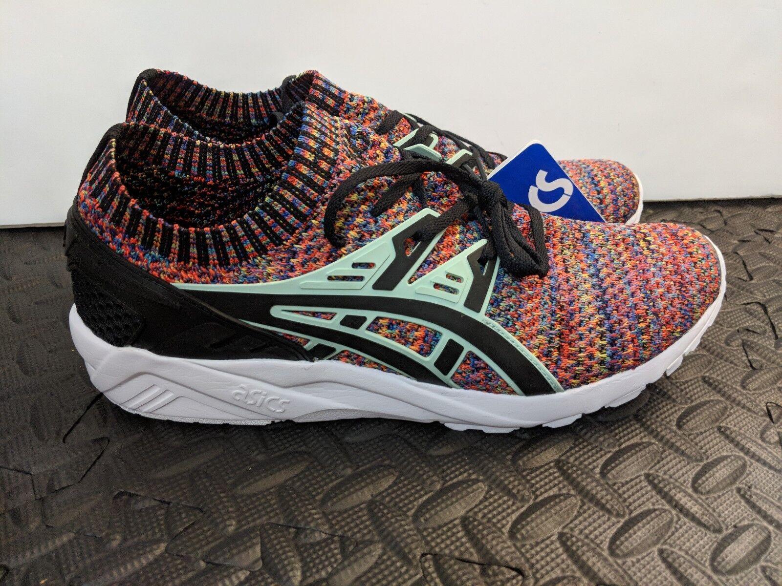 NEW ASICS Tiger Men's GEL Kayano Trainer Running Knit shoes Size 9 HN7Q4