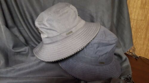 KANGOL Chambray Taped Rain Spey Hat-2 Colors-NWT