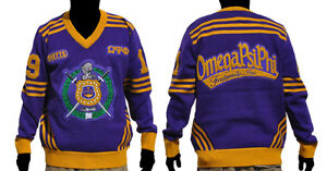 Omega Psi Phi V Neck Sweater Ebay
