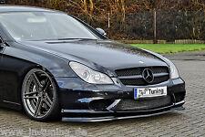 Spoilerschwert Frontspoiler Cuplippe ABS Mercedes CLS C219 AMG 55 63 mit ABE