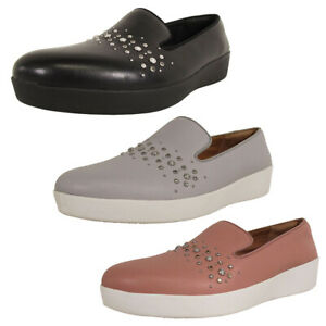 Fitflop-Womens-Audrey-Pearl-Stud-Smoking-Slipper-Shoes
