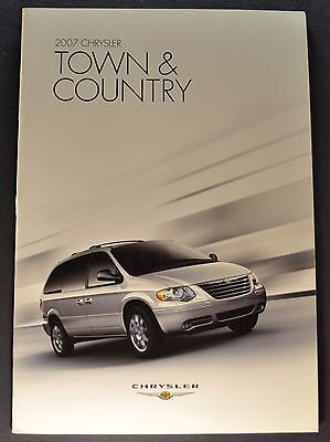 2011 Chrysler Town /& Country Touring Touring L Limited Minivan Sales Brochure