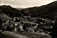 Schönmünzach im Murgtal Postkarte ~1950/60 Panorama Gesamtansicht Wald Hügel
