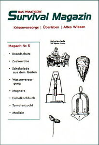 Survival-Magazin-Nr-5-Eichelkochbuch-Gartenbau-Wasser-Krisenvorsorge-Prepper