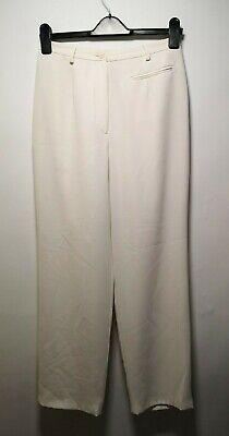 Anne Brooks Petite Donna Pantaloni Crema-uk12 Per Uk8-10-mostra Il Titolo Originale I Colori Stanno Colpendo