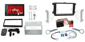 Vw t5 Delta 03-09 2-din Autoradio Kit de montage Canbus Adaptateur Façade Radio