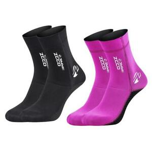 3MM-Neoprene-Diving-Scuba-Surfing-Swimming-Socks-Water-Sports-Snorkeling-Boots