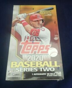 2020-Topps-Series-2-Baseball-Factory-Sealed-Hobby-Box-1-AUTOS-or-Relic-1-Silver