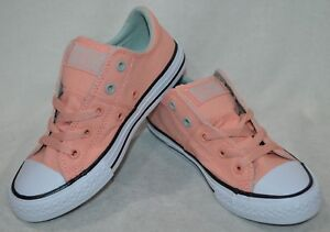 bb87b83baaf4 Converse Girl s CT AS Madison OX Pale Coral D-Bamboo Wh Sneakers ...
