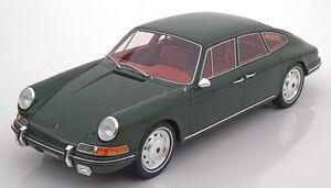1967 Porsche 911 S Troutman / Barnes Vert Foncé Par Bos Modèles Le De 1000 1/18