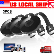 3PCS Miracast 1080P WiFi Display TV Dongle Wireless Receiver HDMI AirPlay DLNA