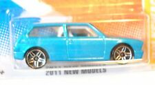 2011 Hot Wheels NEW MODELS #8/50 * VOLKSWAGEN BRASILIA * MF TEAL VW uslc