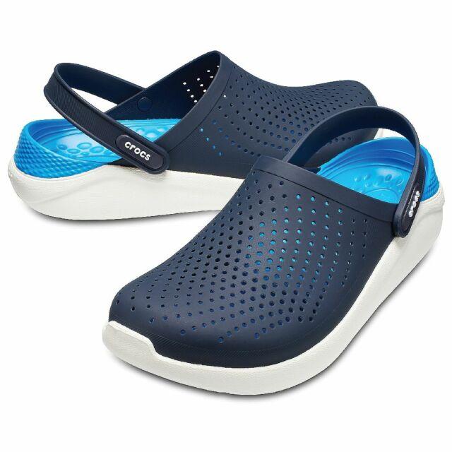 new style 41fa5 b9925 Crocs Literide Clog Unisex Adult 204592 Navy