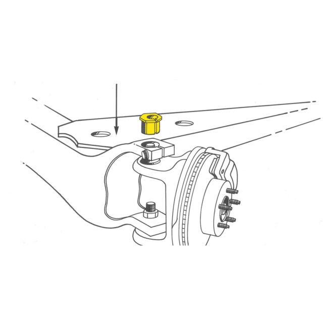 Moog K8983 Caster Camber Bushing