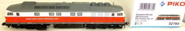 BR 232 293-1 SRP Polska east west Rail EpVI DSS Piko 52764 H0 1:87 NEU HV1 µ *
