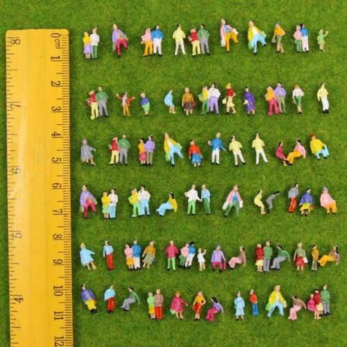P200W Neu 100 × verschiedene Figuren Spur Z 7mm