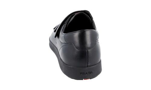 Nuevo Nuevo deporte lujo Zapatillas 5 7 4p2985 Prada de 42 Negro de 41 5 wAqw048gx
