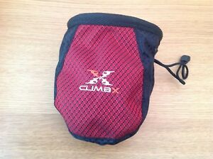 Climb X Addict Rock Climbing Chalk Bag Red - Chester Le St, Durham, United Kingdom - Climb X Addict Rock Climbing Chalk Bag Red - Chester Le St, Durham, United Kingdom