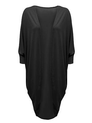 Latest Ladies//Women/'s Kamino Batwing Cardigan Top All UK Sizes in Plain