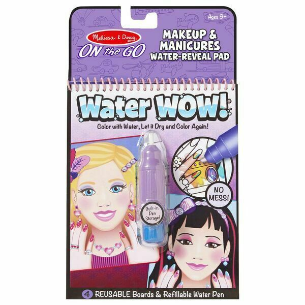 Melissa & Doug On the Go Activity Book Water Wow Makeup & Manicures