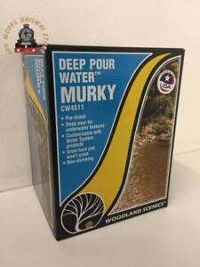 Details about Woodland Scenics Other WCW4511 Deep Pour Water - Murky