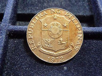 1972 PHILIPPINES 50 SENTIMOS COIN IN AU//UNC CONDITION KM#-203