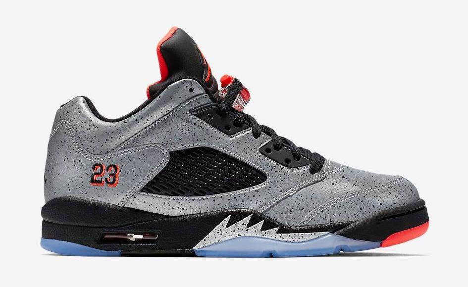 2016 Nike Air Jordan 5 V V V Retro Low Neymar Size 15. 846315-025 silver red black b84cc2