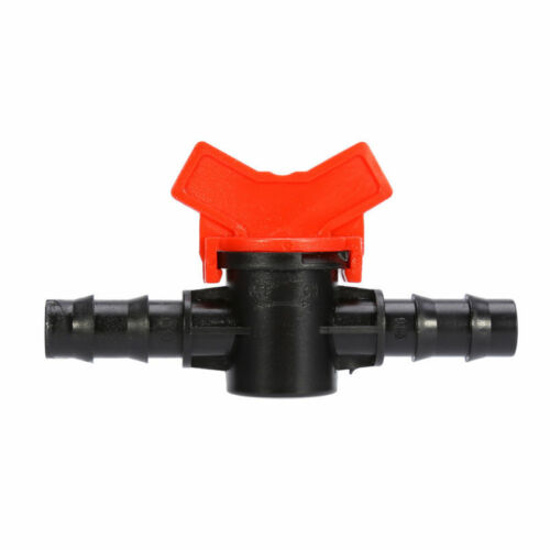 16mm Pipe Coupling Hose In Line Inline Valve Switch Irrigation Connector 13mm