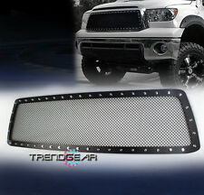 2010-2013 TOYOTA TUNDRA MAIN UPPER RIVET STAINLESS STEEL MESH GRILLE GRILL BLACK