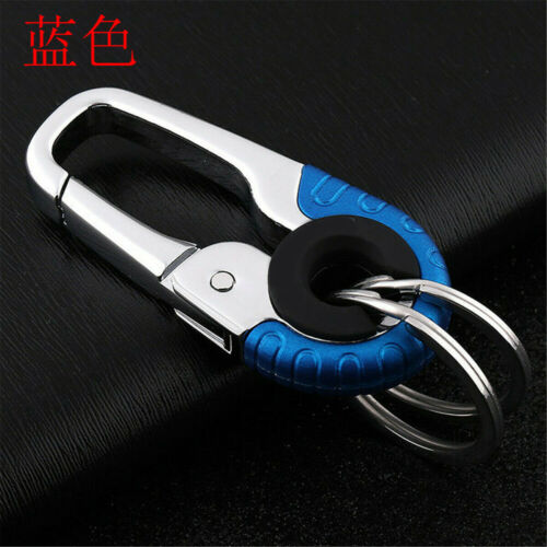 Keychain Key Ring Hook Outdoor EDC Stainless Steel Buckle Climbing Carabiner