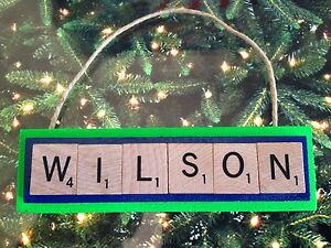 Seahawks Christmas Lights.Details About Wilson Russell Seattle Seahawks Christmas Ornament Scrabble Tiles