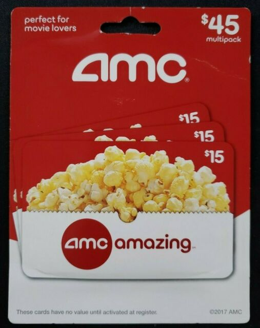 $20 AMC Gift Card for sale online   eBay