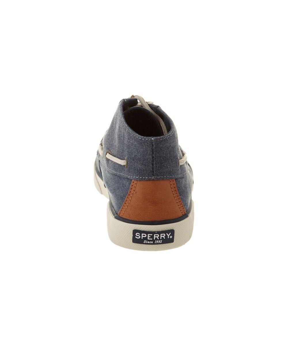nouveau sperry femmes est jetée crest haut chaussures de bateau bleu haut crest de baskets taille 6,5 bb4481