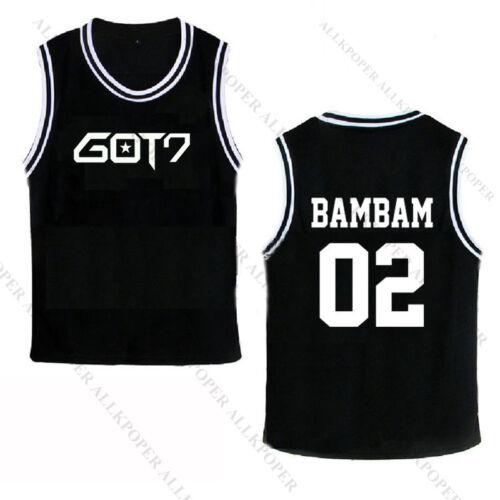 Kpop GOT7 Basketball Singlet Unisex Jackson T-shirt Mark Tshirt Sleeveless Shirt