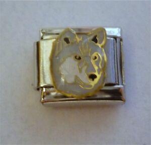 9mm-Italian-Charm-E102-Husky-Huskie-Dog-Fits-Classic-Size-Bracelet
