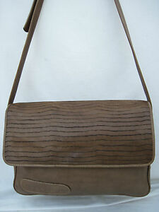 Milano Besace Authentique Sac Lithos Bag t Vintage En Cuir Italy beg YYZnxq5