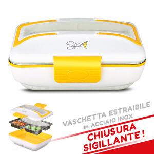 SPICE-AMARILLO-INOX-TRIO-Scaldavivande-elettrico-vaschetta-3-scomparti-Acciaio-I