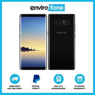 Samsung Galaxy Note8 N950F 64/128/256GB SIM Free Unlocked Refurbished Smartphone