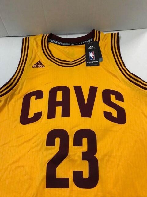 c7b82e237a7 Lebron James Cleveland Cavaliers NBA adidas 2015 Swingman Jersey ...