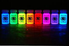 60ml x8 Ultra Bright U.V Artist Paints Buy UV Paint Set Online U-V Reactive U V