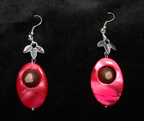 Ohio State Buckeye Earrings Jewelry Handmade Great Quality