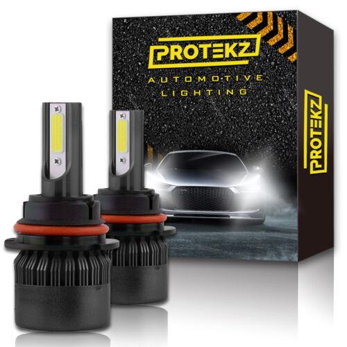 Protekz 6K Wht LED Foglight Kit for 2005-2013 Chevrolet CORVETTE H10 Bulbs