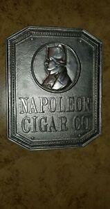 Napoleon Co. Nickel plated Bronze Sign