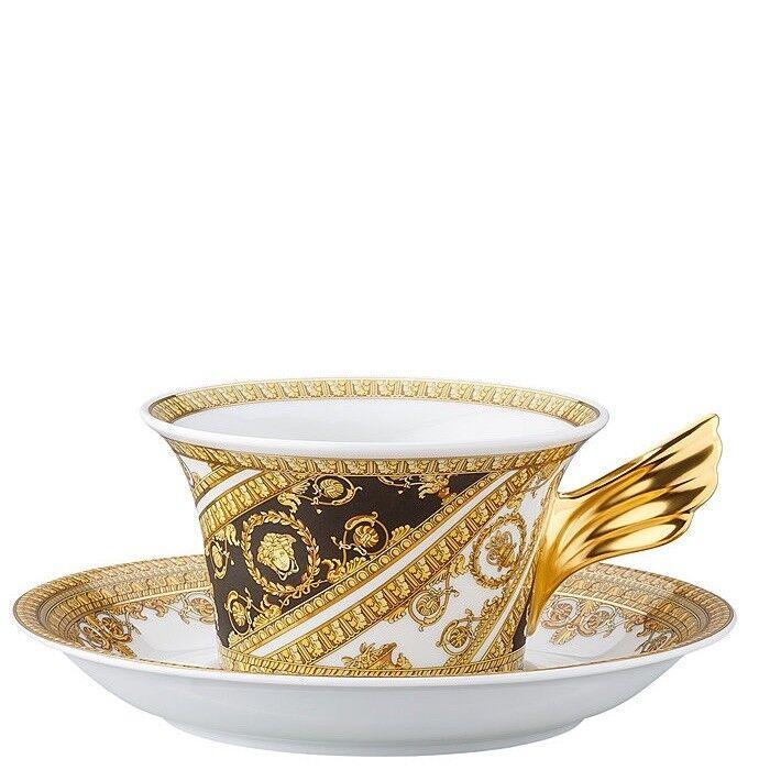 25 Anni Versace, Tazza Tè con piatto I Love Baroque, Porcellana, Versace