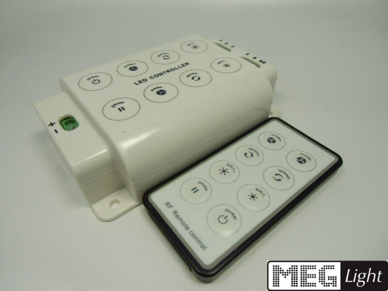 Funk RGB & LED-Controller + RF-Fernbedienung RGB + WW WW WW + KW Steuerung 12-24V DC e6f1cb